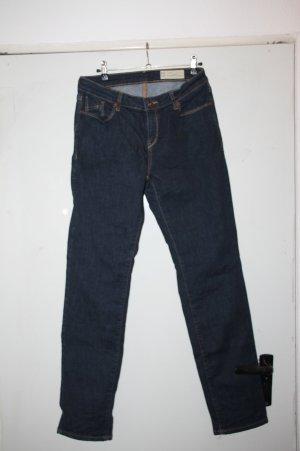 Esprit Jeans coupe-droite bleu foncé coton