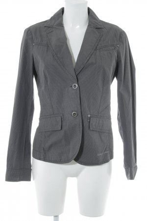 Esprit Denim Blazer grey check pattern casual look