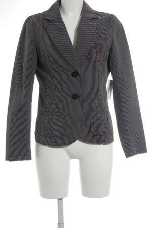 Esprit Jeansblazer helllila-weiß Streifenmuster Brit-Look