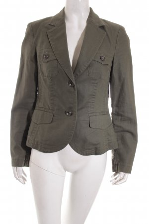 Esprit Jeansblazer khaki Military-Look