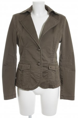 Esprit Denim Blazer olive green casual look