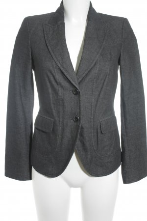 Esprit Jeansblazer schwarz-anthrazit Business-Look