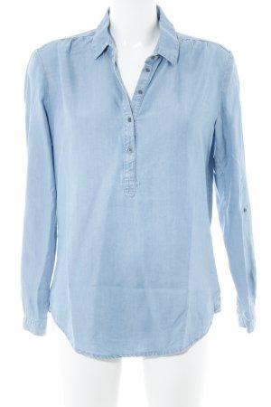 Esprit Blouse en jean bleu azur style décontracté
