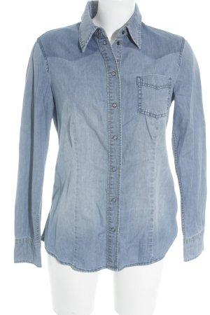 Esprit Jeanshemd himmelblau Jeans-Optik