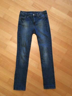 Esprit Jeanshose dunkelblaue Waschung