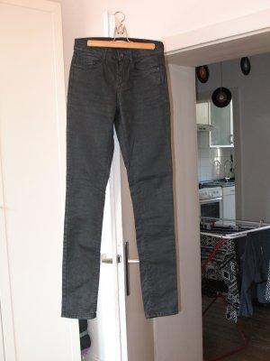 Esprit Jeanshose schwarz-glänzend