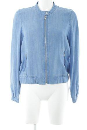 Esprit Jeansjacke neonblau Casual-Look