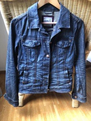Esprit Denim Jacket dark blue-blue