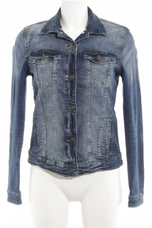 Esprit Denim Jacket neon blue jeans look