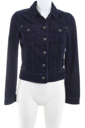 Esprit Veste en jean bleu-bleu foncé style décontracté