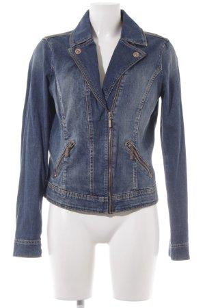 Esprit Veste en jean bleu Aspect de jeans