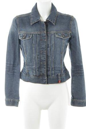 Esprit Jeansjacke blau Street-Fashion-Look