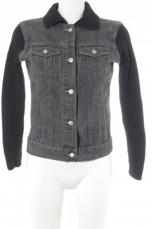 Esprit Jeansjacke grau-schwarz Casual-Look