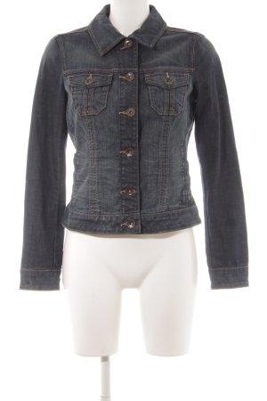 Esprit Veste en jean gris ardoise style décontracté