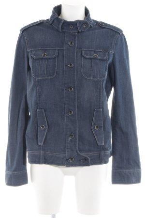Esprit Veste en jean gris ardoise Aspect de jeans