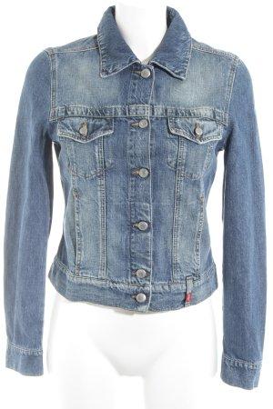 Esprit Veste en jean bleu clair style décontracté