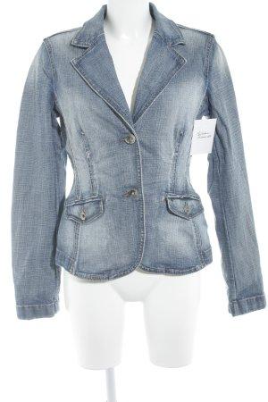 Esprit Jeansjacke himmelblau-stahlblau klassischer Stil
