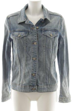 Esprit Jeansjacke kornblumenblau-blassblau Farbverlauf Casual-Look