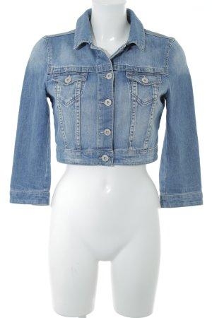 Esprit Jeansjacke kornblumenblau-blassblau Jeans-Optik
