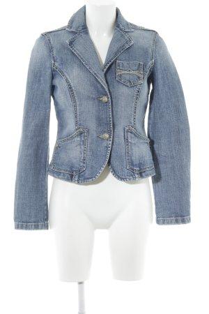 Esprit Jeansjacke mehrfarbig Washed-Optik