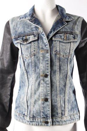 Esprit Jeansjacke schwarze Ärmel