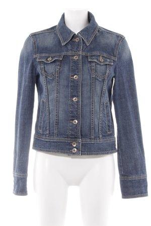 Esprit Jeansjacke stahlblau Jeans-Optik