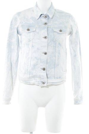 the best attitude a9411 d24a6 Esprit Jeansjacke weiß-blassblau Casual-Look