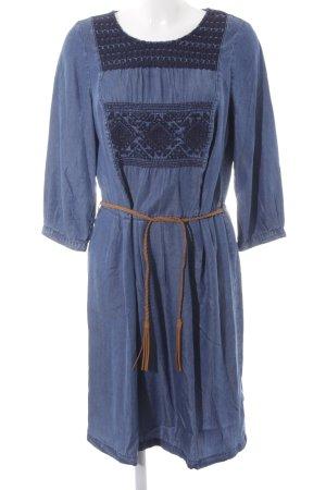 Esprit Jeanskleid blau Boho-Look