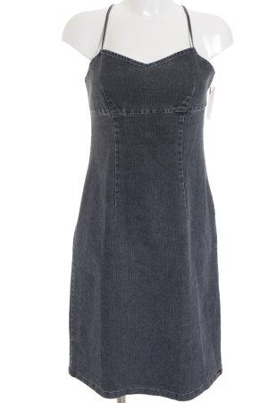 Esprit Jeanskleid graublau minimalistischer Stil