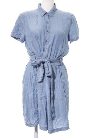Esprit Jeanskleid himmelblau Country-Look