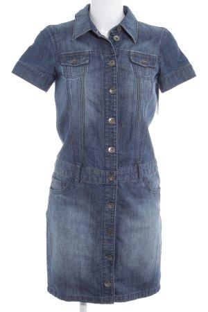 Esprit Jeanskleid kornblumenblau meliert Casual-Look