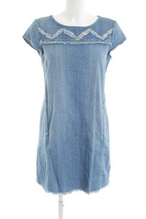 Esprit Denim Dress cornflower blue street-fashion look