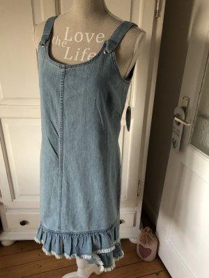 Esprit Jeanskleid mit Rüschen Neu Mit Etikett 59,99€