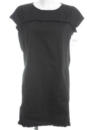 Esprit Jeansjurk zwart casual uitstraling