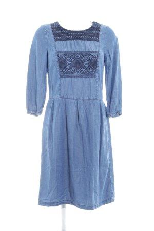 Esprit Jeanskleid stahlblau schlichter Stil
