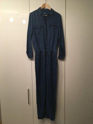 Esprit Jumpsuit donkerblauw