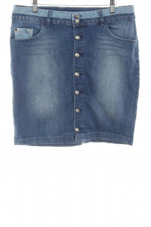 Esprit Jeansrock blau Casual-Look