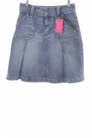 Esprit Jeansrock blau Jeans-Optik