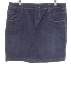 Esprit Spijkerrok donkerblauw casual uitstraling