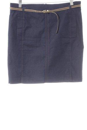 Esprit Spijkerrok donkerblauw Jeans-look
