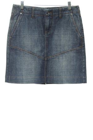 Esprit Jeansrock dunkelblau Jeans-Optik