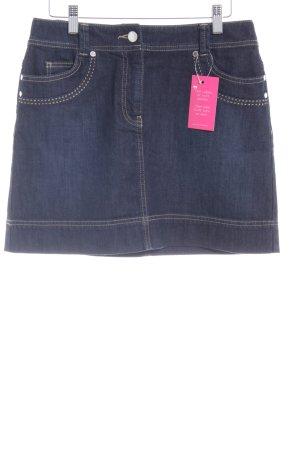 Esprit Jeansrock dunkelblau schlichter Stil