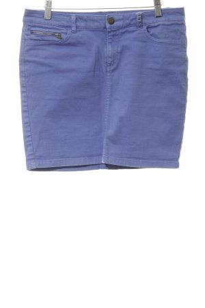 Esprit Jupe en jeans lilas style décontracté