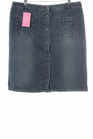Esprit Denim Skirt slate-gray Brit look