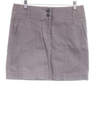 Esprit Spijkerrok grijs-bruin Webpatroon casual uitstraling