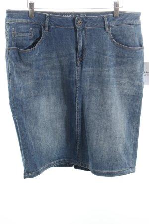 Esprit Jeansrock hellblau-wollweiß Urban-Look