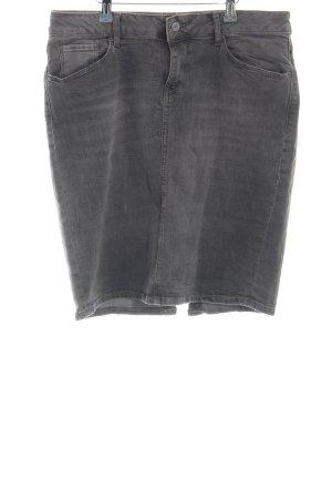 Esprit Gonna di jeans grigio chiaro stile casual