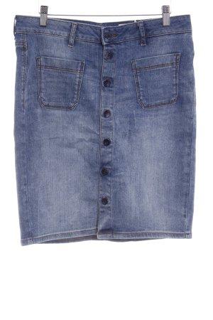 Esprit Jeansrock himmelblau Washed-Optik