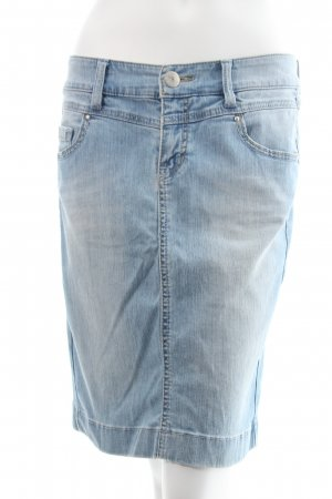 Esprit Jeansrock himmelblau Washed-Optik
