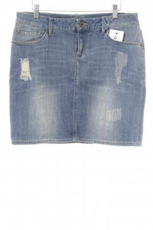 Esprit Gonna di jeans blu fiordaliso stile universitario